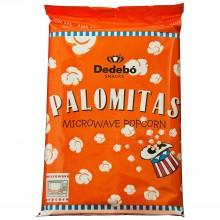 Palomitas dulces para microondas Dedebo 12 unidades de 100 g.