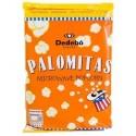Palomitas con sal para microondas Dedebo 12 unidades de 100 g.