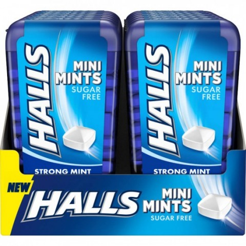 Halls Mini Mints Menta 12u.
