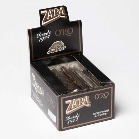 Regaliz Zara ORO 75 unidades.