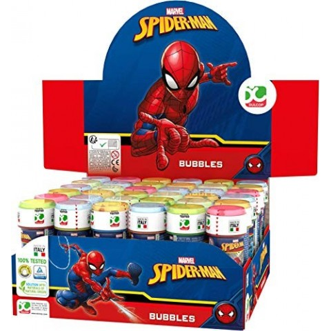 Pomperos jabón Spiderman 36u.