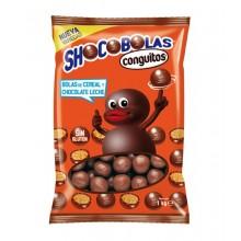 Shocobolas de chocolate con leche de Lacasa bolsa 1kg.