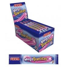 Mega Torcidas envueltas sabor helado de fresa 48u.