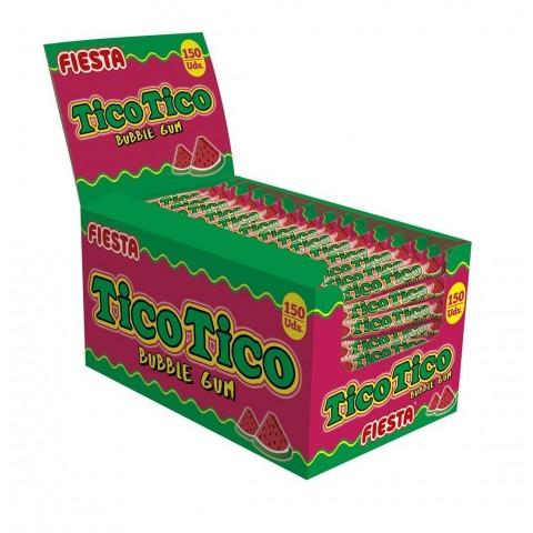 Chicle Tico Tico sabor sandía 150u.