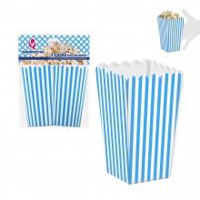 Pack 3 cajas azules para palomitas