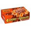 Gofres con chocolate Punto Gofre minibox con 4u.
