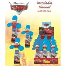 Ventilador Manual Cars 12u.