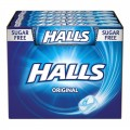 Caramelos halls Original 20 paquetes