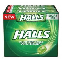 Caramelos Halls Hierbabuena 20 paquetes