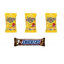 Pack M&M + Snickers
