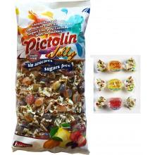 Caramelos Pictolín Jelly sin azúcar 1kg.