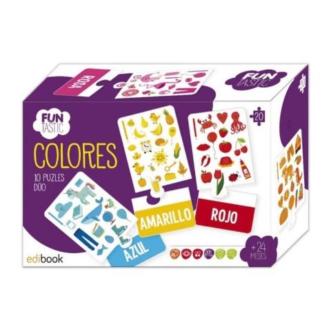 Puzle Dúo Funtastic - Colores