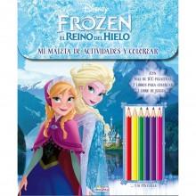 Libro Maleta de actividades Frozen