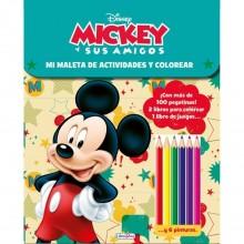 Libro Maleta de actividades Mickey