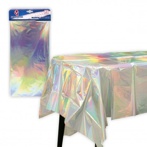 Mantel de fiesta Metalizado 137x183cm.