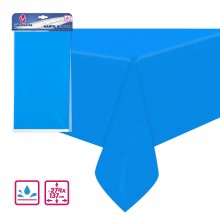 Mantel de fiesta Azul 137x274cm.