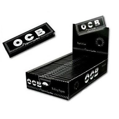 Papel OCB Premium 1 1/4 (78MM) 25 libritos