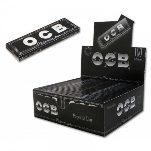 Papel OCB Premium 1 1/4 (78MM) 100 libritos