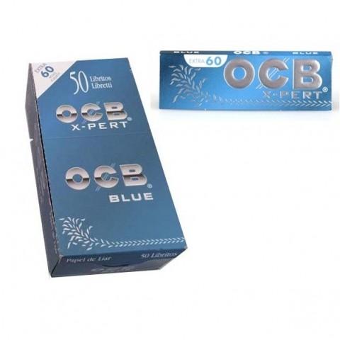 Papel OCB X-pert Blue Nº1 (70MM) 50 libritos
