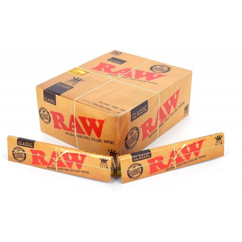 Papel Raw Slim (110MM) 50 libritos