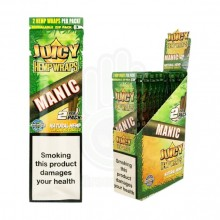 Papel de cáñamo Juicy Blunt Manic (Mambo/Papaya) (25X2)