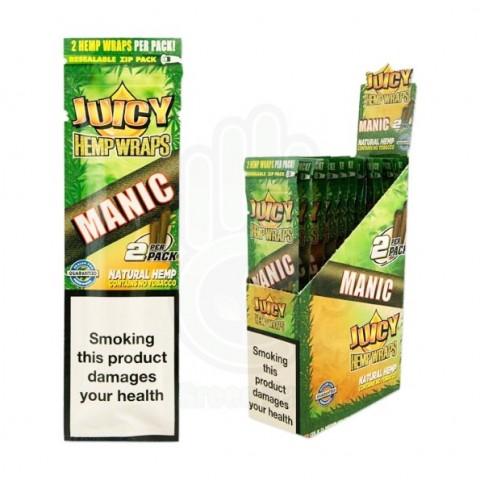 Papel de cáñamo Juicy Blunt Manic (Mambo/Papaya) (25X2)