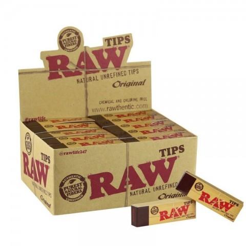 Filtros Carton Natural Raw Tips 50 libritos