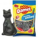 Caramelos de goma Damel Gatos de regaliz brillo 1kg.