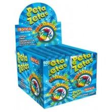 Peta Zetas tropical pintalenguas caja con 50 unidades.