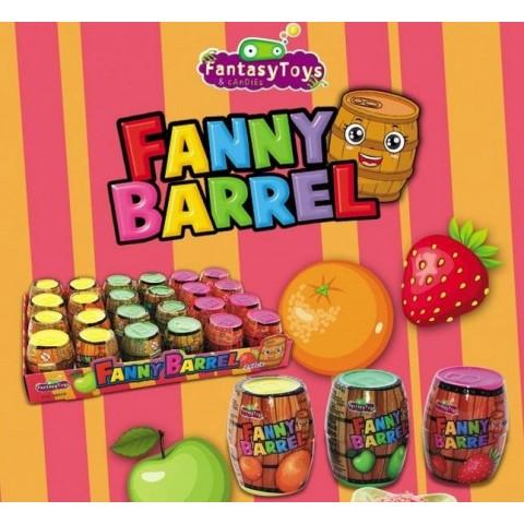 Caramelo comprimido Fanny Barrel 24u.