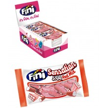 Fini Pillow Bag Sensation sour red mix 18B x 50gr.