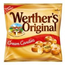 Caramelos Werther's original sabor nata bolsa de 135gr.