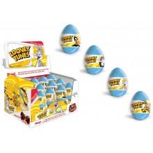 Huevos de chocolate Looney Tunes 24 unidades.