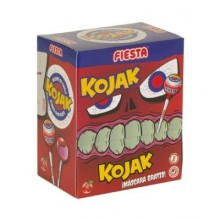 Kojak Fiesta Monster cereza relleno de chicle caja 20u.