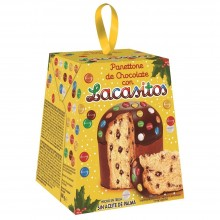 Chocolate Panettone with Lacasitos 100gr.