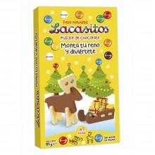 """Lacasitos Puzzle de chocolate """"Monta tu reno"""" 1u."""