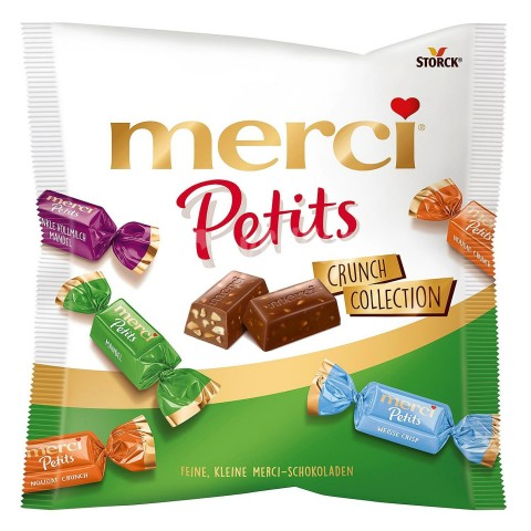 Bolsita Merci petits Crunch Collection 125gr.