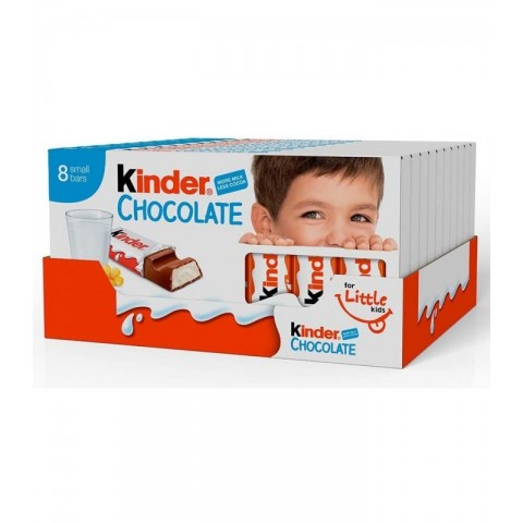 Kinder Chocolate T8 10 unidades.