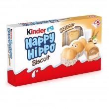Kinder Happy Hippo Abellana 10 unidades.
