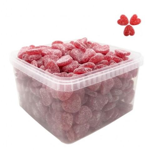 Corazones ácidos de fresa Granhs 290u.
