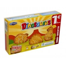 Galletas Dinosaurus Original 124gr. 12u.