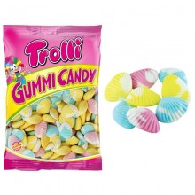 Caramelos de goma Almejas Trolli bolsa 1Kg.