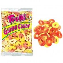 Caramelos de goma Orcas Trolli bolsa 1Kg.