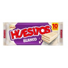 Huesitos Blanco Pack 10 unidades