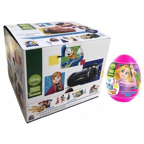 Huevos de plástico Princesas Disney Cookie + Surprise 18u.