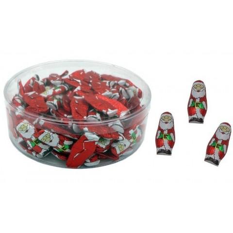 Chocolatinas papa noel tarro 150u.