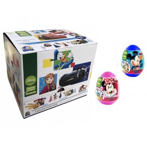 Huevos de plástico Disney Mix Cookie + Surprise 18u.
