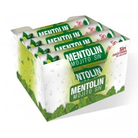 Caramelos Mentolin Mojito sin azúcar 12 tubos