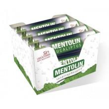 Caramelos Mentolin Eucalipto sin azúcar 12 tubos