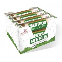 Caramelos Mentolin Miel & Mentol sin azúcar 12 tubos
